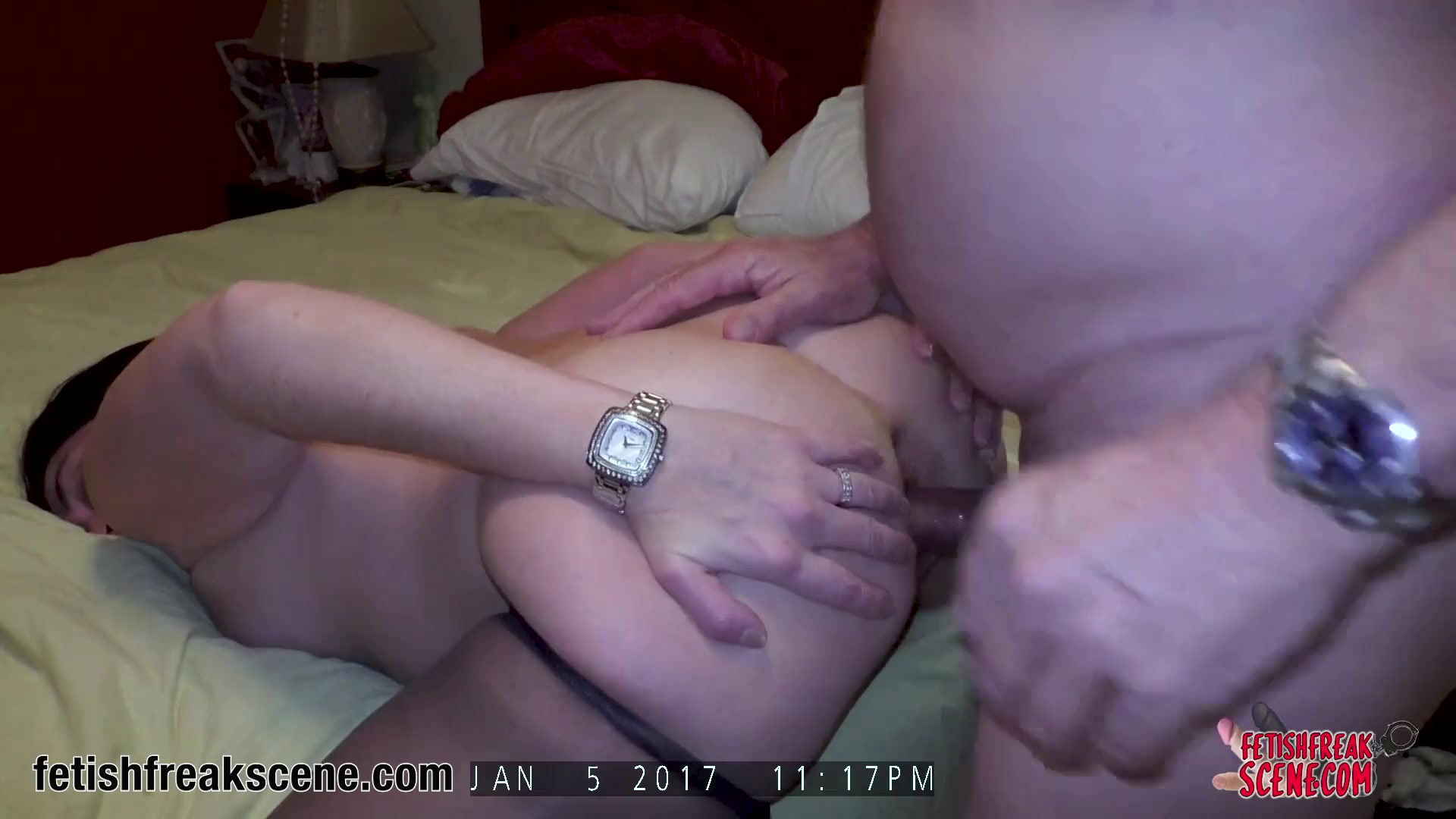 Real amateur anal sex video