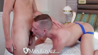 ManRoyale Good Ass Vibrations with two hunks