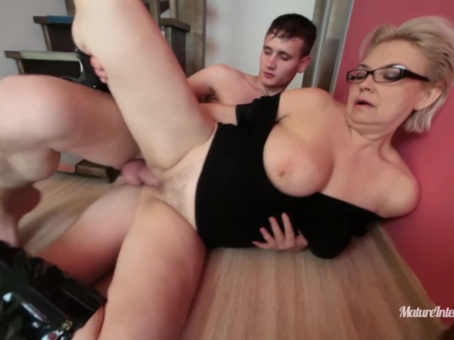 Mature Takes Young Cock