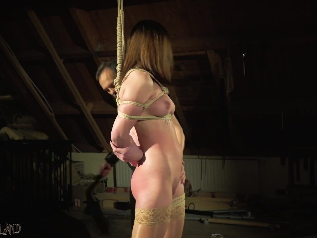 Sensual Hot And Kinky Bondage Sex For Tied Up Teen - Free -3667