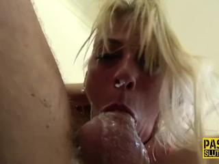 Throated Sub Milf Rides