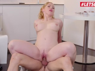 LETSDOEIT – Horny Wife Wants To EAT Lover's Cum For Breakfast