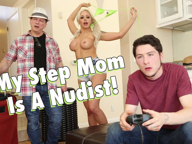 Step Mom Helps Step Son Out