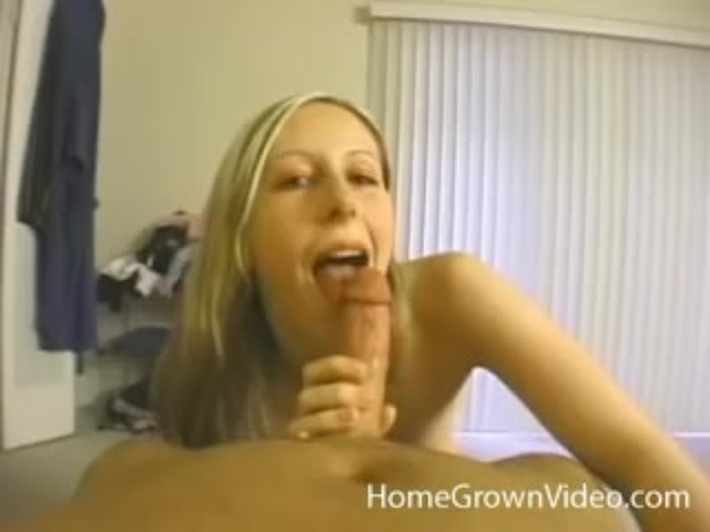 Tiny Blonde Amateur Pov