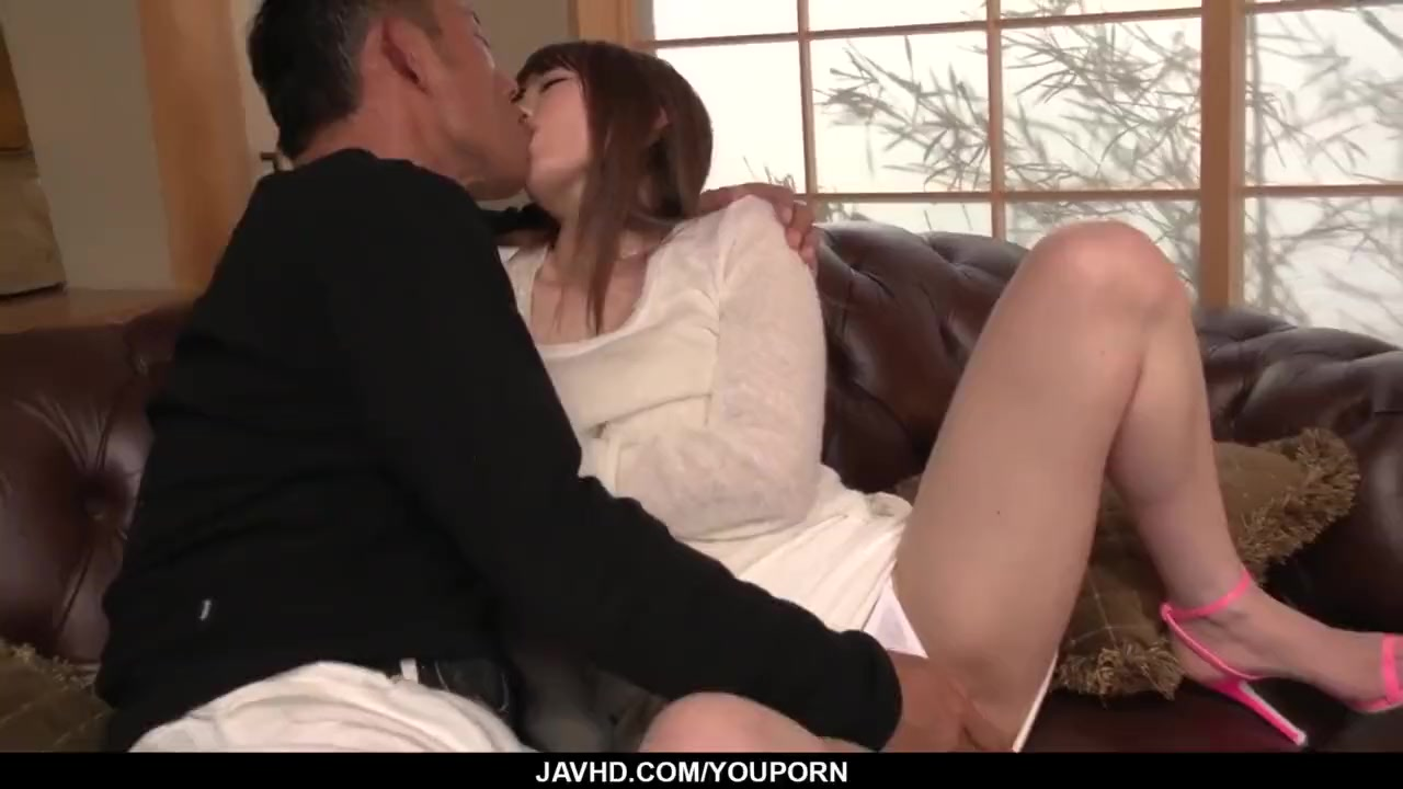Porn on a couch
