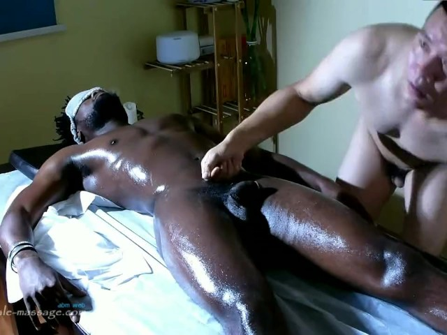 Ebony Gives Prostate Massage