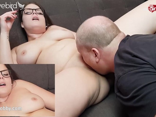 Licked While Fucked Threesome