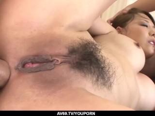 Akari Asagiri Uses Whole Energy To Deal A Massive Dick - More At 69avscom