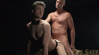 BoyForSale - Jock slave boy Cole Blue fucked bareback by Dom daddy