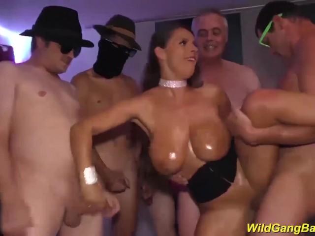 German Big Boobs Threesome