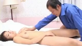 Mirai Hoshino licks and sucks cock she gets in her shaved cooter - More at hotajp.com