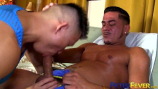 PETERFEVER Asian Jock Jessie Lee Barebacked After Blowjob