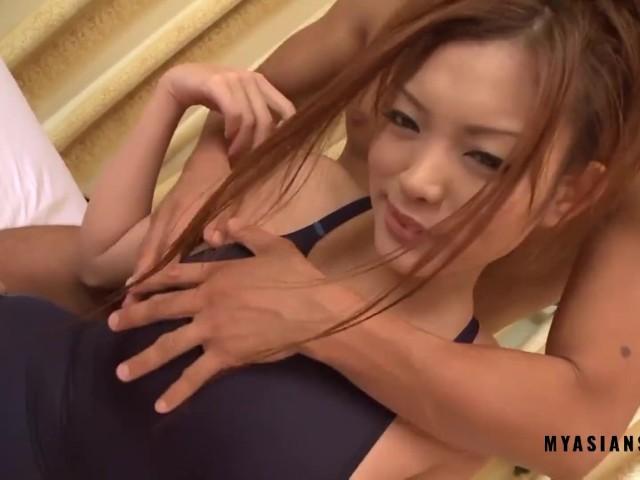 Fuck horny asian milf before sexy massage