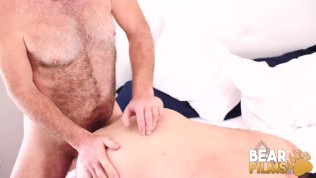 BEARFILMS Young Tony Rivers Hammered By Daddy Bear Big Cock