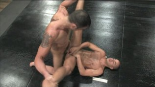 Bad guys John Stone&Spencer Reed fighting naked