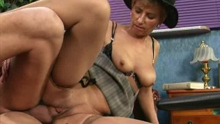 her first anal voyeur - old mom enjoys her first anal sex ...
