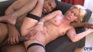 Italian cougar hardcore video blonde