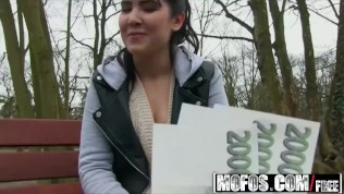 Mofos – Innocent Student Makes Amateur Porn Starring Lady D