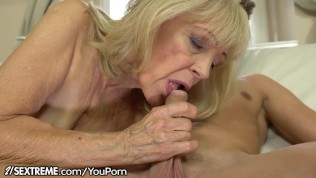 21sextreme horny granny rides young studs throbbing cock 4