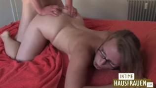 Hauswife sex young german mom