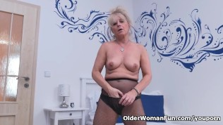 American gilf cristine needs masturbation for starters - 1 part 8