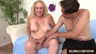 Sweetsinner busty cougar reagan has passion with young lover 2