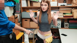 ShopLyfter – Teenager Thief Fucked by Security Guard