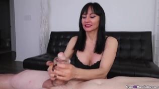 Squishy Stroker Superb Milf Handjob From Natasha Ola