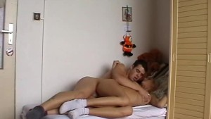 having fun on a single bed (part 3)
