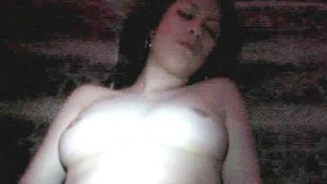 Fingers in her pussy. table dance