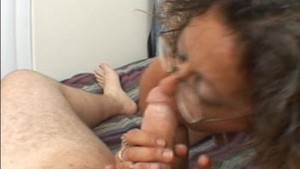 CANDI THE MILF GETS A FACIAL