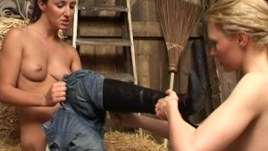 Lesbians hitting the hay