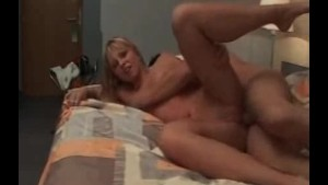 Young Blond has an Affair