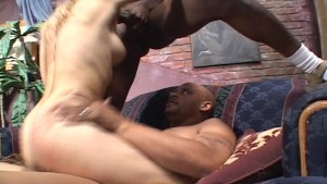 Horny girl doing two bruthas