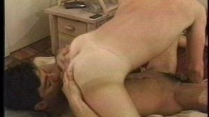 Boys sharing bed and body