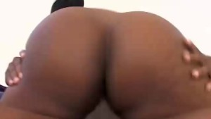 Hot black BBW banged and blasted