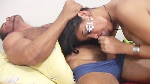 Pakita pumping his meat in her fun bags