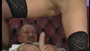 Short haired tattooed lady gets porked