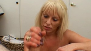 Busty Mom in BJ and Titfuck