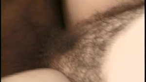 Mature Hairy Pussy Loves Big Cock