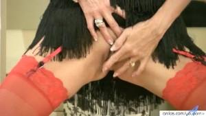 Horny housewife masturbation