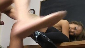 Thight asian fucked by big rod