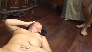 Mature hot and ready swallows some black dick part 2