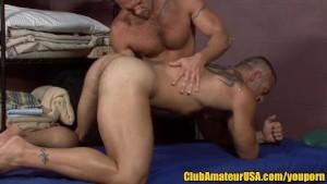 Muscle Hunk s Prostate Massage