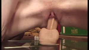 Lovely red head sucks and fucks Omars huge black dick