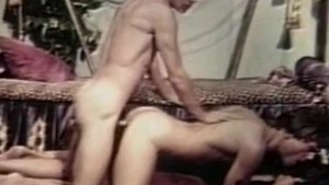 John Holmes in a hot gay movie