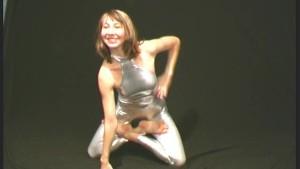 Ballerina Elza flexible posing (clip)