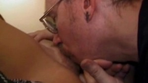 Busty chick gets a hot facial