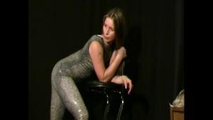 Chantal spandex homestrip (movie)