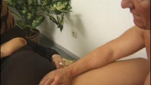 Chubby blonde gets fucked and fisted - Inferno Productions